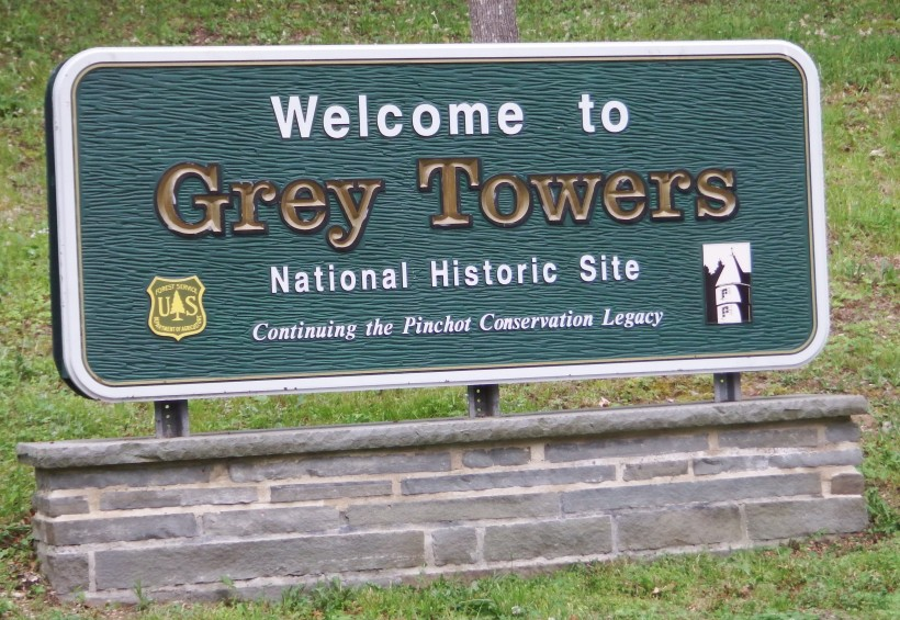 Grey Towers Welcome