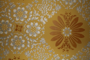 The 70's-esque Wallpaper.