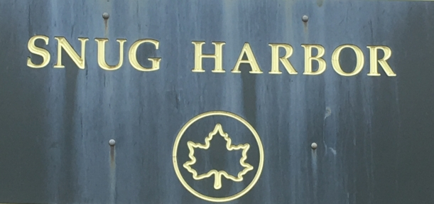 Snug Harbor Sign