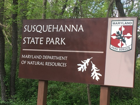 Susquehanna State Park Sign