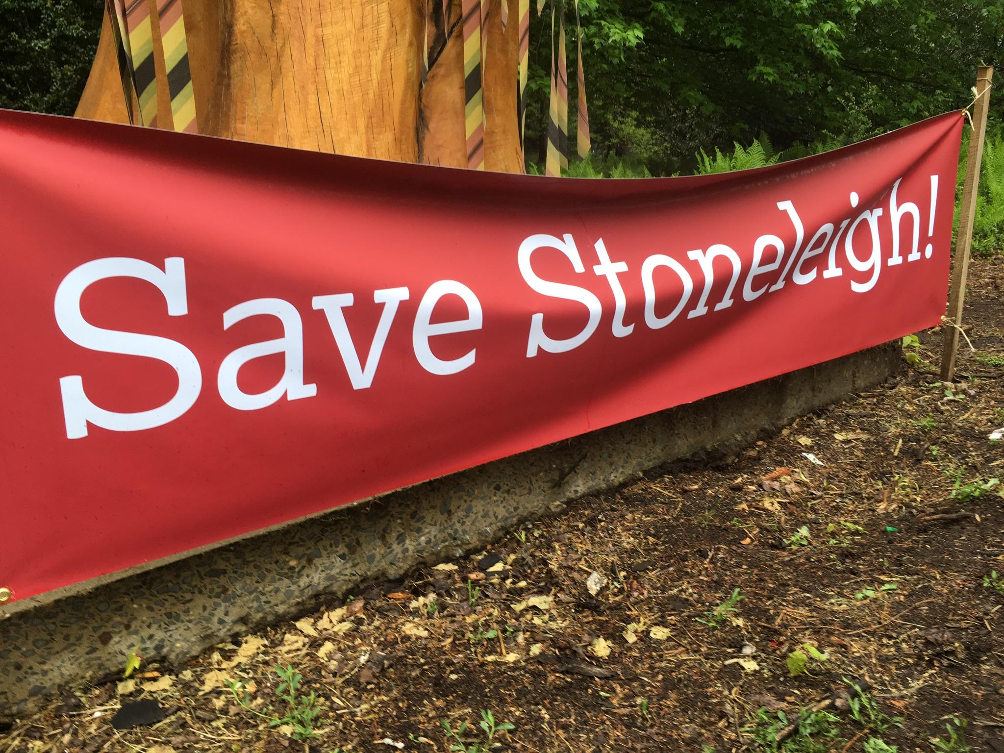 Save Stoneleigh Banner