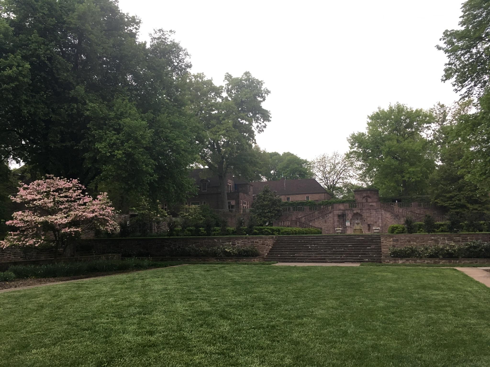 Tyler formal garden BCCC