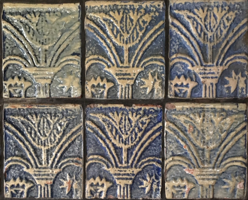 Moravian Pottery and Tile Works Tulip Tiles